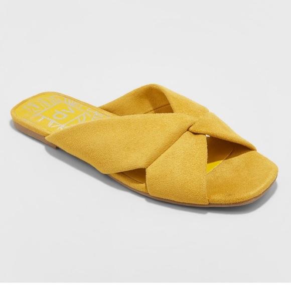 mustard yellow sandals target